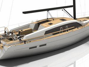 Pour ses 50 ans, Wauquiez annonce un nouveau voilier de grand voyage, le Pilot Saloon 48
