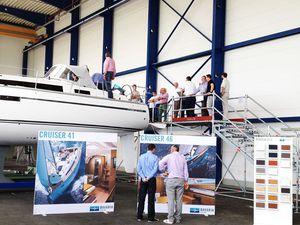 Portes ouvertes dans l'un des plus grand chantiers européens de bateaux de plaisance