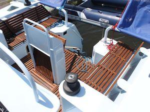 Mise à l'eau de l'Amerx40, la révolution foils dans les voiliers de grand voyage aluminium