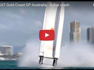 VIDEO - accident spectaculaire lors d'une course offshore en Australie