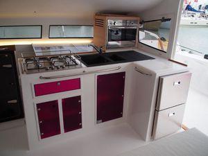Grand Pavois - avec le Marsaudon TS 42, le catamaran rapide de grand voyage revient aux fondamentaux