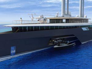 VIDEO MYS - VPLP dévoile Komorebi, un projet de yacht trimaran hybride de 85 mètres