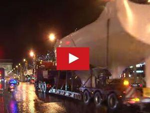 VIDEO - les bateaux du Nautic dans les rues de Paris