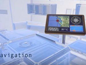 VIDEO - A découvrir au Nautic de Paris, la première table à carte tactile