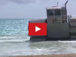VIDEO - monstrueux, l'UHAC, le véhicule amphibie des US Marines !!