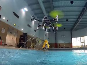 VIDEO - Innovation, le sous-marin volant de la Rutgers University