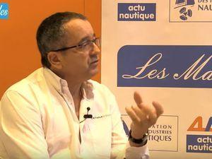 Olivier Poncin, président de Catana Group, invité des Matinales d'ActuNautique.com et de la FIN