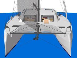 Scoop Boot - 4 catamarans Catana 53 déjà vendus &#x3B; nouveaux visuels du bateau