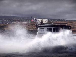 VIDEO - 2.16 minutes de Bonheur à bord d'un Targa 32
