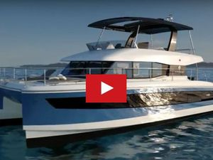 VIDEO - à la découverte du nouveau motoryacht catamaran Fountaine-Pajot MY 44