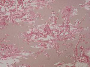 Histoire d'eau coloris fond rose et crème fond ciel