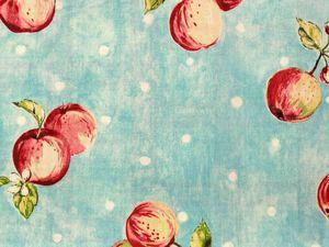 Tissus Apples et Fruits retro