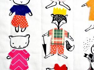 Dress me, le magnifique tissu by Dear Stella