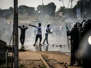 Violente manifestation au Gabon