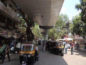 Les rickshaws, ces véhicules à trois roues omniprésents à Bombay