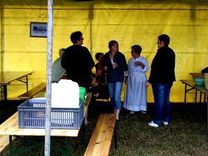 Fête de la moisson à La Chapelle aux Bois