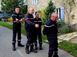 sapeurs pompiers, concours belote, repas Saint Rémi
