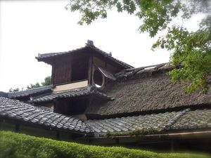 Kyôto : Le Shisèn-dô 詩仙堂, ou Hall des Poêtes Immortels