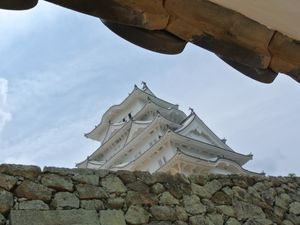 Préf. de Hyôgo : Le chateau de Himéji 姫路城 ou &quot&#x3B;Le Héron Blanc&quot&#x3B; (UNESCO)
