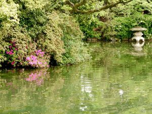Kyôto : Le château Nijôjô 二条城 et ses jardins UNESCO - Le petit Shinsèn-èn 神泉苑