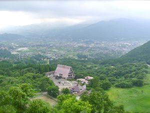 Préf d'Ôita : Les thermes de Yufuin au pied du Mont Yufudaké - Tadéhara Shitsugèn