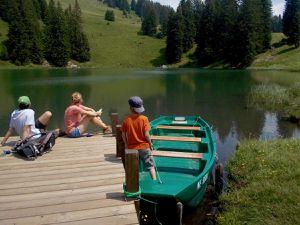 """puis fini de jouer, cap sur le lac de Rétaud pour refaire la """"grosse rando"""" de la semaine"""