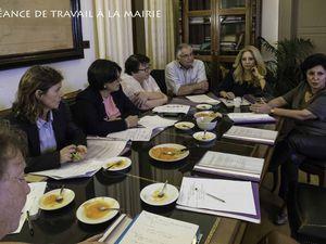 La Municipalité de Quimper en visite à Lavrio...