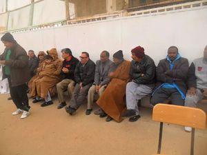Nos vétérans au Jubilé &quot&#x3B;Hemadi&quot&#x3B; à Touggourt.