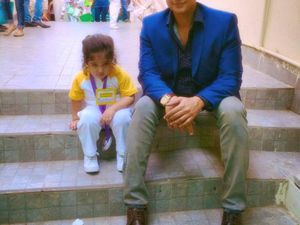Faisal Qureshi With his Doll