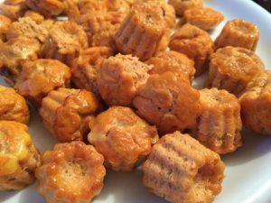 Cannelés au thon/tomate
