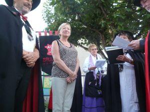 Quand le clocher tors de Sérignac sur Garonne fête ses 25 ans