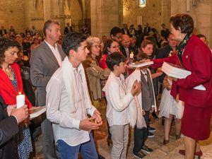 Baptêmes, Professions de foi, 15 mai 2016