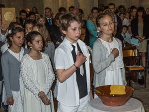 Première Communion, en l'église Notre Dame de Moirax
