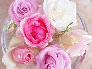 Après 3-4 jours, les roses perdent leur vitalité... Voici une petite idée pour leur donner une seconde vie.