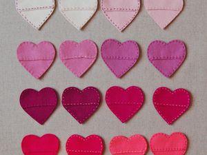 tutos coeurs St valentin (tutoriel gratuit - DIY)