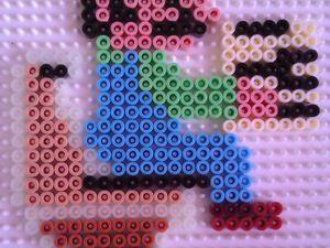 Mario hama beads