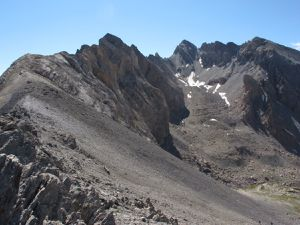 L'étape la plus alpine: du gite de la Basse Rua à Ceillac par la Collette Verte (2900m) et le Pas du Curé