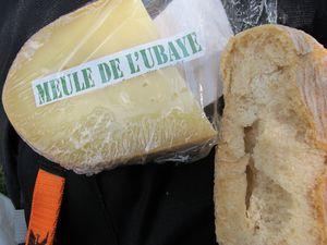 La Meule de l'Ubaye achetée à Fouillouse et le refuge de la Basse Rua