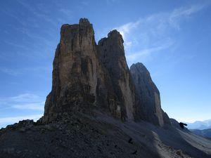 Refuge Lavaredo et les Tre Cime