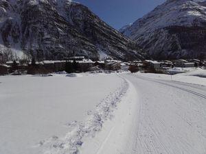 Skating à Bessans, pour jouer avec l'hiver ...