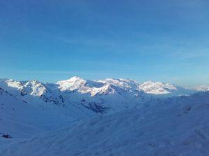 Escapade ski de rando en Haute Maurienne et neige de printemps pour mes Sweet-Apple