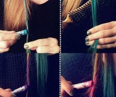 Les coloration de cheveux