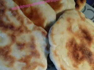 Naans pains indiens pâte levée au Companion