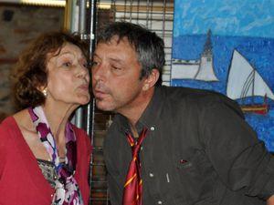 Vernissage de l'exposition d'Irkat Lain à Espira de l'Agly