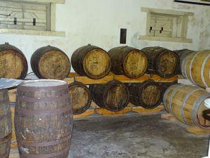 La distillerie.