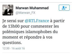 En 2 petits jours, Marwan Muhammad a réussi à se faire inviter sur CNN, LCI, RTL et BFMTV
