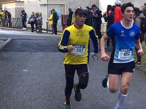 Les coureurs du LIEVRE ET LA TORTUE : merci à SARAH et SANDRA pour les photos