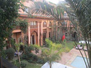 Hotel Les Jadins de La Koutubie en el interior de la Medina, al lado de la plaza Jemaa el Fna