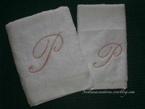 Cifre su asciugamani