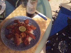 Un cocktail dînatoire réalisé par Mina  sous le signe de la permaculture et quelques plats où le bon goût et la poésie font bon ménage pour le lus grand bonheur des papilles et des yeux.